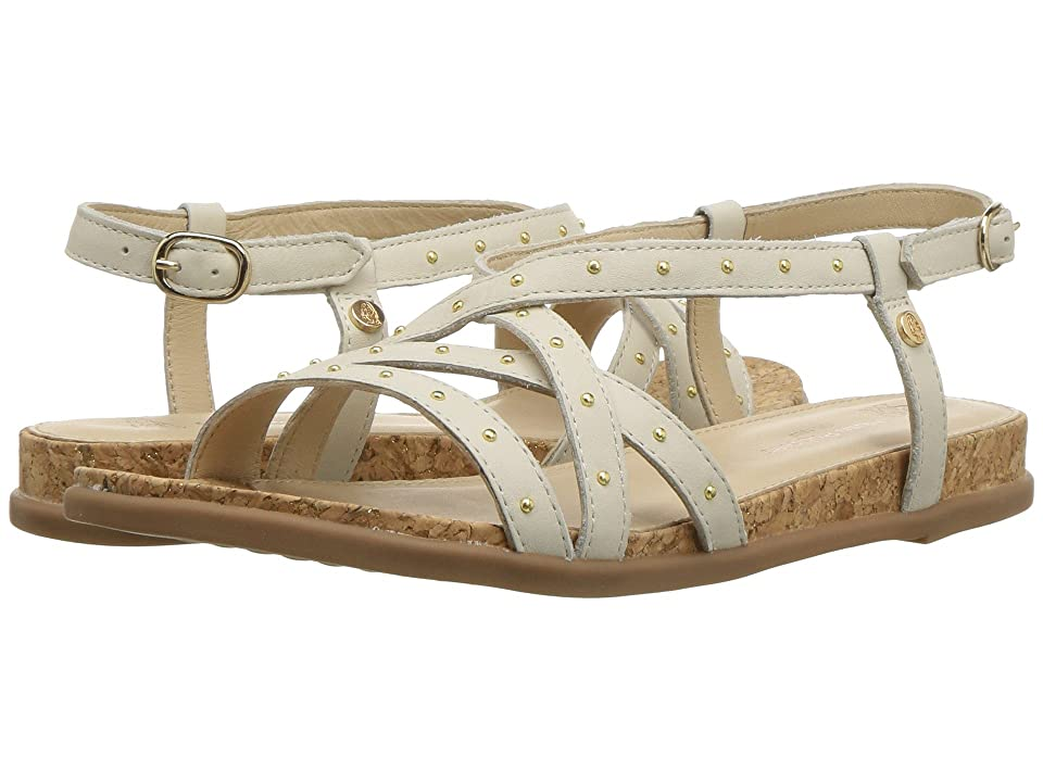 Hush Puppies Dalmatian Pinstud (Ivory Leather) Women