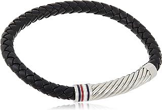 Tommy Hilfiger Men'S Black Brass Wrap Bracelets -2790080