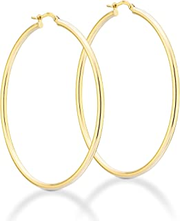 18K Gold Over Sterling Silver 2mm High Polished Round...