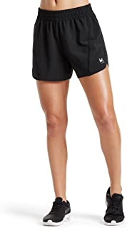 Mission Women's VaporActive Ion 4 Training Shorts, Moonless Night, Small