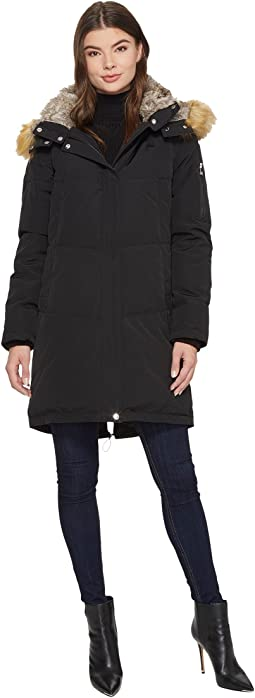 Vince Camuto - Faux Fur Hooded Down N1011