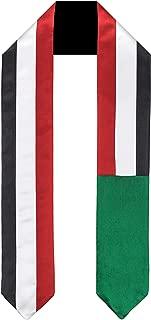 Sudan Flag Graduation Sash/Stole International Study Abroad Adult Unisex