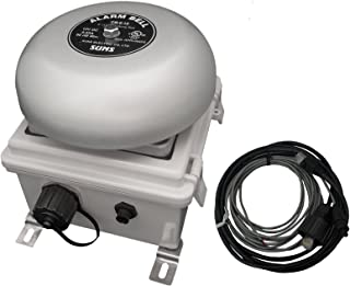 NETBELL-K Web-Based Signal Bell Self-contained All-in-One School/Factory Break Bell System with Up to 500 Event Schedules
