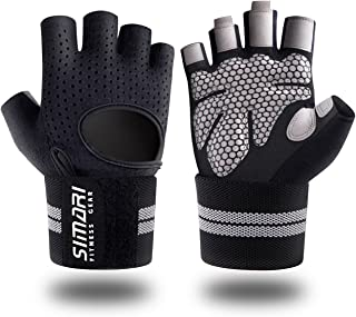 SIMARI Workout Gloves for Women Men,Training Gloves with...