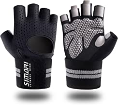 SIMARI Workout Gloves for Women Men,Training Gloves with Wrist Support for Fitness..