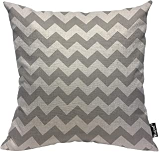 Best grey chevron cushion Reviews