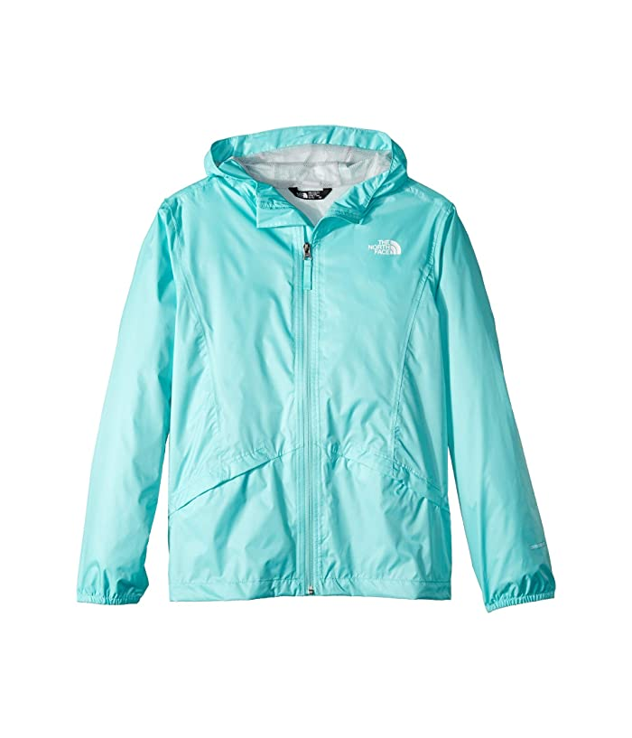 The North Face Kids Zipline Rain Jacket (Little Kids/Big Kids) (Mint Blue) Girl's Coat