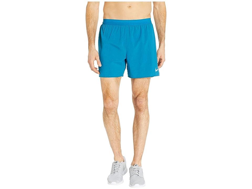 Nike Flex Stride 5 Running Short (Green Abyss/Hyper Jade) Men