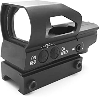 AlphaZ Reflex Sight Green Red Dot Sight with 4 Ajusttable Reticle Setting Target Reticle