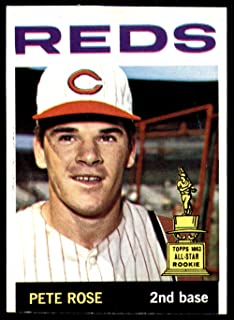 1964 Topps #125 Pete Rose UER Miscut Reds