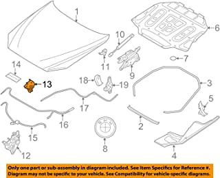 BMW 51-23-7-183-763 Lock Upper Section, Left