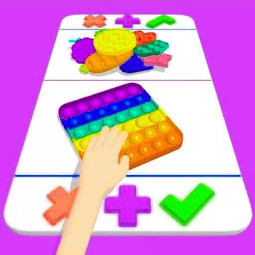 ASMR Fidgets trading Toys Master 3D - Pop it Fidgets & Bubble Wrap Super Pop It Simulator Relaxing Game