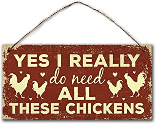 Chicken Sign, Your Farm,5 x 10 inch,Garden Sign,House Gift