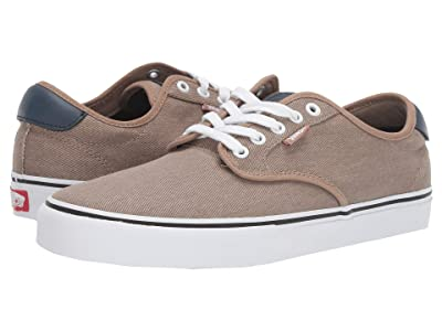 Vans Chima Ferguson Pro ((Twill) Portabella/Dress Blues) Skate Shoes