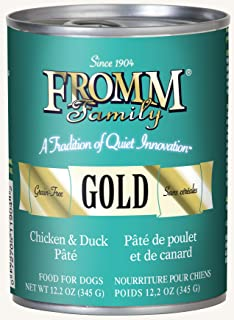 Fromm Gold Chicken & Duck Pâté 12.2oz / case of 12