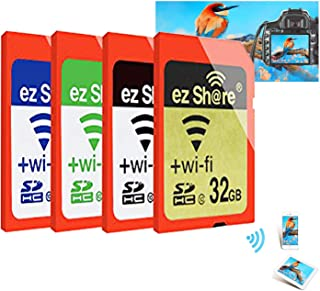 2017 Pen Drive 100% Original Real Capacity ez share WiFi sd Card Memory Card Sdhc Card Camera (4GB)