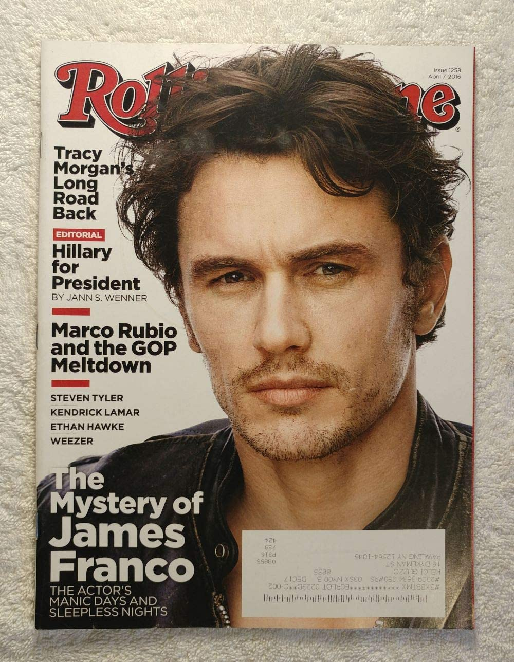 The Mystery of James Franco Sleepless 1 year warranty Manic It is very popular Days Actor's -