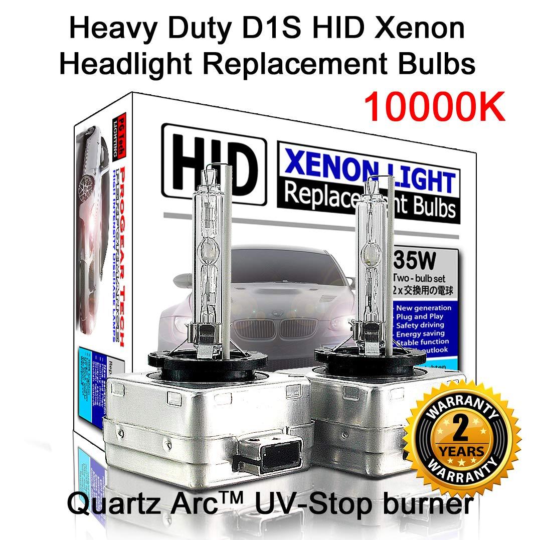 2 Bulbs # Heavy Duty D1S D1R OEM HID Xenon Headlight Replacement Bulbs
