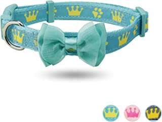 YUDOTE Dog Collar with Bowtie and Flower Accessories