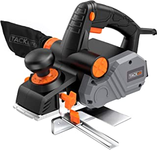 """Planer, TACKLIFE Power Hand Planer, 7.5 Amp 900W 14500Rpm 3-1/4-Inch, with 1/96"""" to.."""