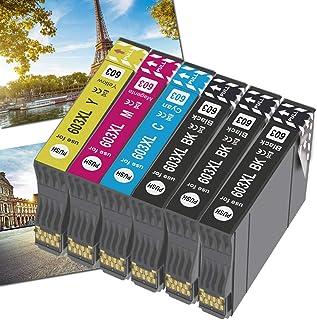 OGOUGUAN 603XL Cartucce Sostituzione per Epson 603 XL Cartucce, Compatibile per Epson Expression Home XP-2100 XP-4100 XP-3...