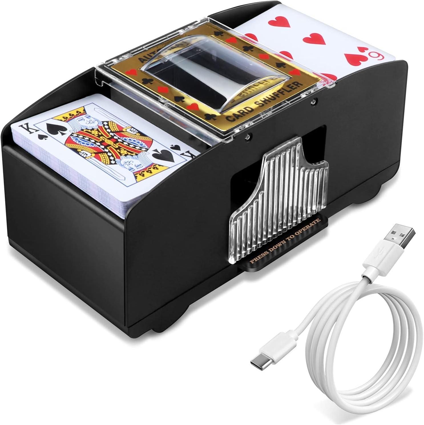 Automatic Card Columbus Mall Shuffler Electronic Shuffling Poker Austin Mall Casino