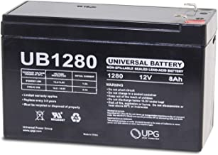 Universal Power Group 12V 8AH Replacement Battery for Nightsearcher NS750 LED + 12v 1Amp Charger