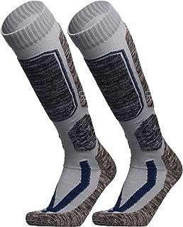 WEIERYA Ski Socks, Warm Knee High Performance Skiing Socks, Snowboard Socks