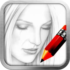 App Features: * 17 brushes + eraser * Intuitive brush picker to select brush, adjust brush width and pressure. * Desktop-class color picker * Sketch on photo. * Undo / Redo * Pinch to zoom in and zoom out. * Build-in gallery stores both sketch drawin...