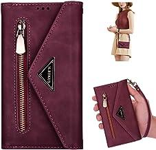 Uposao Kompatibel med Huawei P20 Lite mobiltelefon kedjefodral plånbok läderfodral flip fodral plånbok skyddande plånbok f...