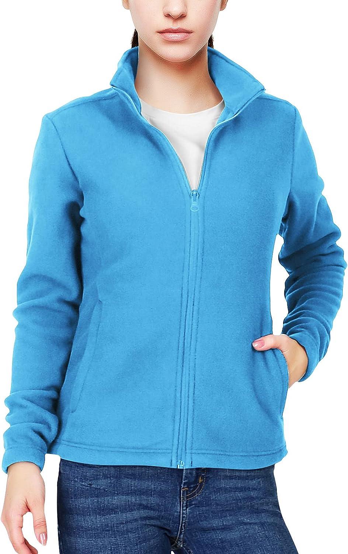 Tucson Mall 33 000ft Women's Zip Up Fleece Sleeve Jacket Kansas City Mall Pol Soft Warm Long