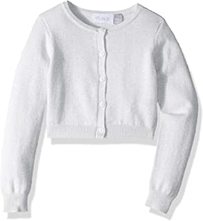 The Children's Place Big Girls' Solid Long Sleeve Cardigan