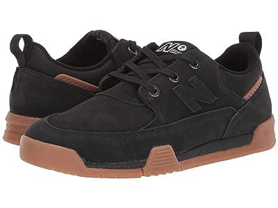 New Balance Numeric All Coasts 562 (Black/Gum) Skate Shoes