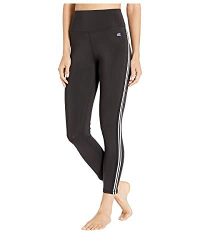 Champion Phys Ed High-Rise Tights (Black/White) Women