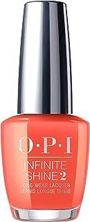 OPI Nail Polish, Infinite Shine Long Lasting Nail Polish, Orange / Peach, 0.5 fl oz