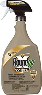 Roundup 5107300 Extended Control Weed and Grass Killer Plus Weed Preventer II Ready-to-Use Trigger Spray, 24-Ounce