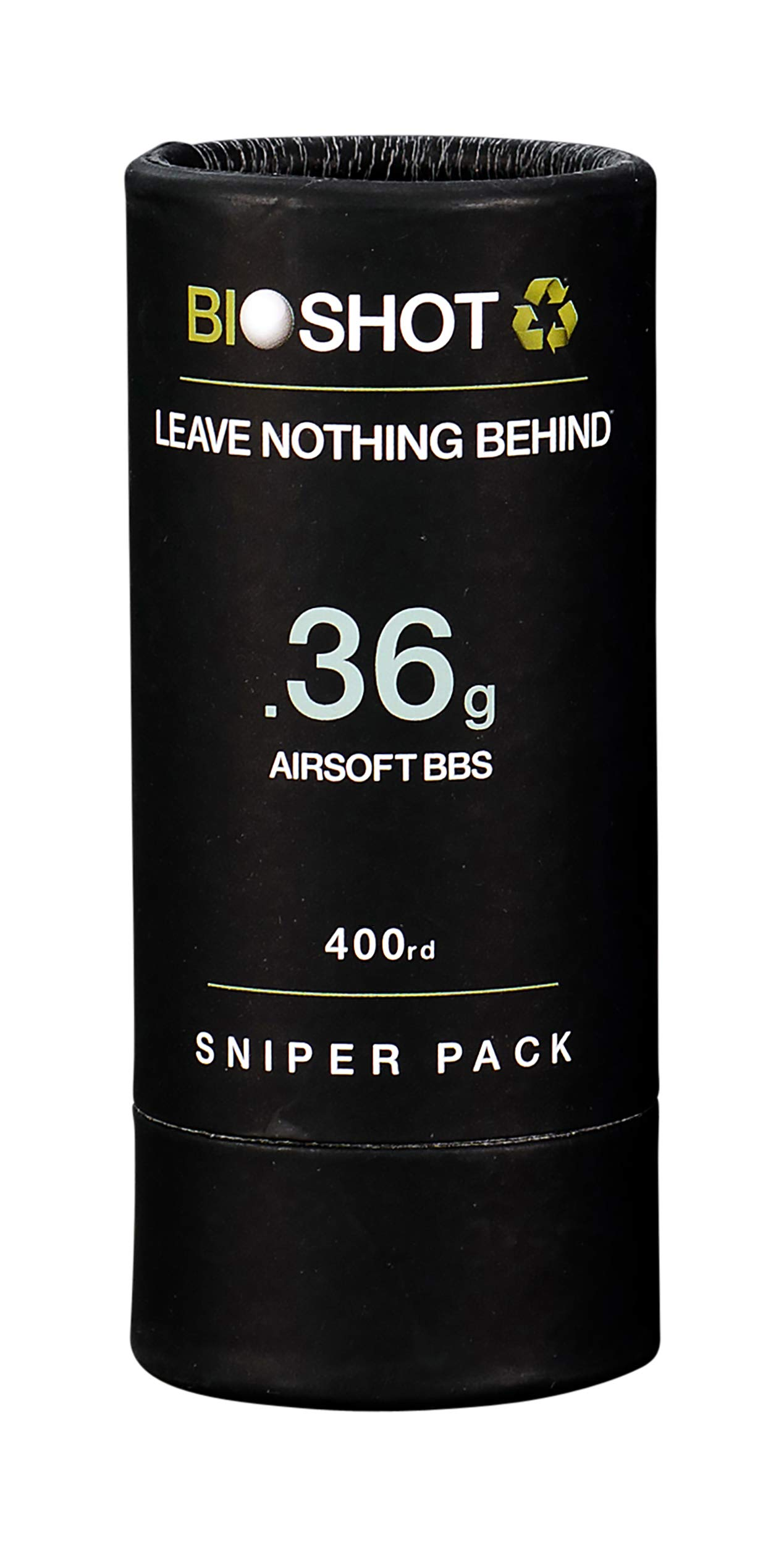 BioShot Biodegradable Airsoft BBS -.36g Super Slick Seamless Sniper Weight Competition Match Grade for All 6mm Airsoft…
