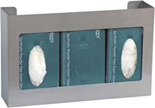 American Made Stainless Steel Triple Glove Box Holder (5 Year Warranty Included)