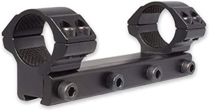 Hawke Sport Optics 1pc Match Series 1in 9-11mm Rifle Scope Ring Mount, Medium