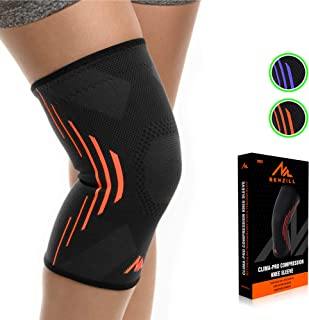 NEWZILL Compression Knee Brace for Knee Pain - Braces and Supports Knee for Pain Relief, Meniscus Tear, Arthritis, Injury, Running, Joint Pain, Support - Best Knee Sleeve