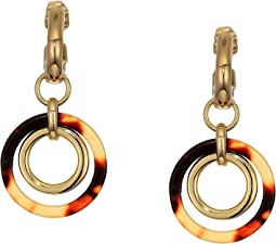 Clip Ring Orbital Earrings