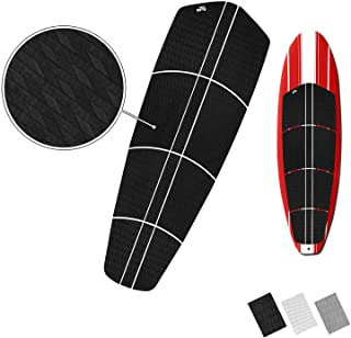 BPS SUP 'Non Slip' Traction Pad - 12 Piece Diamond Tread Paddle Board Deck Grip with 3M Adhesives (Black, Grey, or White)
