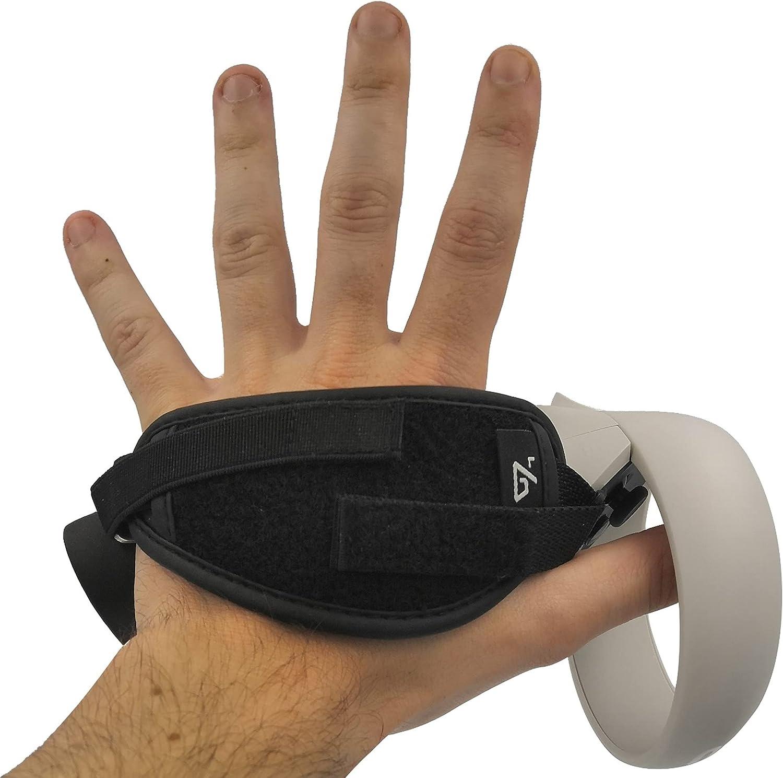 PROTUBEVR - ProStraps Grip Velcro Straps for HP Reverb G2 Comfort and Security Compatible with ProTubeVR GunStocks