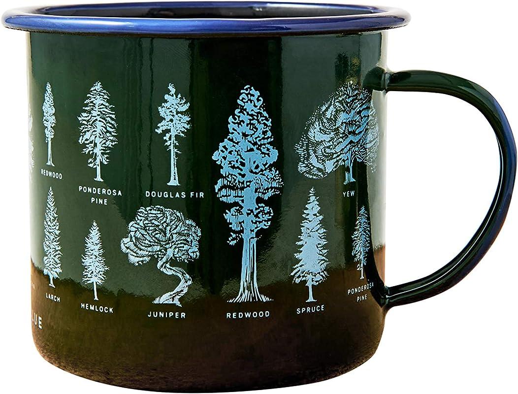 United By Blue Enamel Mug Candle 12oz 9oz Soy Candle