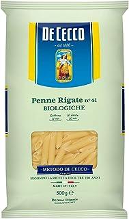 ディ・チェコNo.41 ペンネリガーテ オーガニック(有機栽培マカロニ) 500g ×4袋