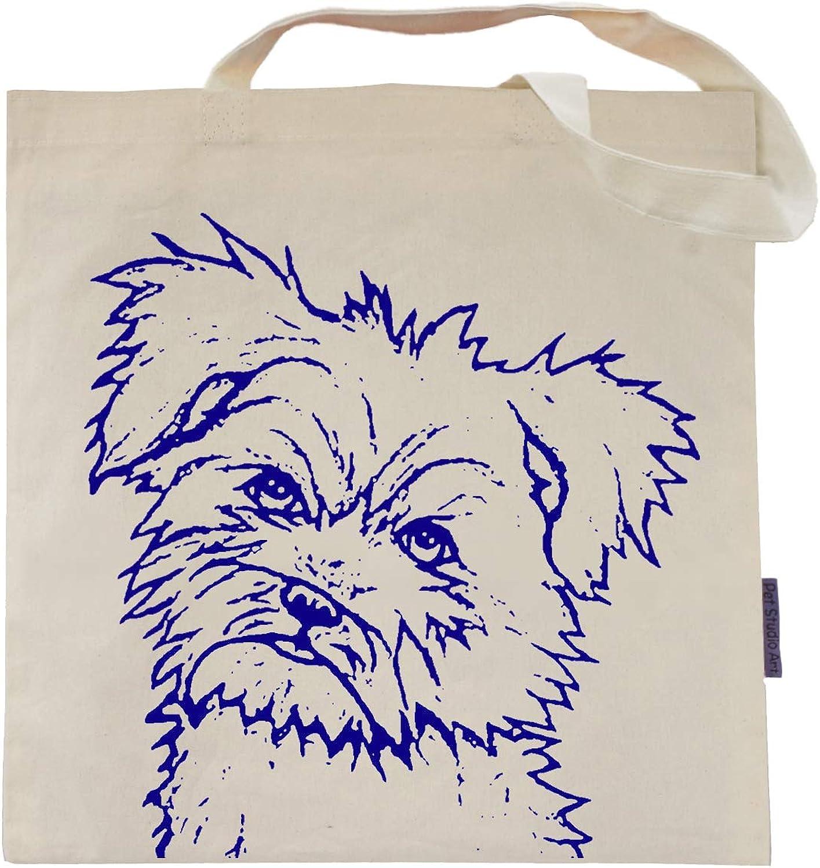 Terrier Tote Bag by Pet Studio Art