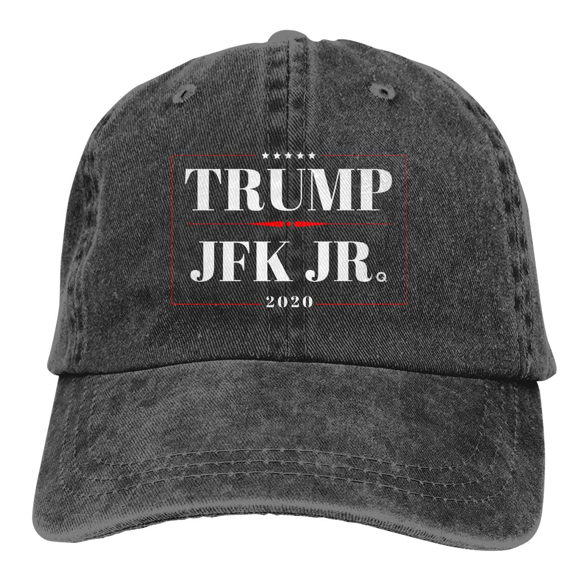 no-brand Donald Trump /& JFK Jr Q 2020 Campaign Adjustable Baseball Caps Denim Hats Cowboy Sport Outdoor