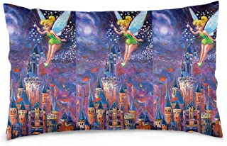 Pillow Cases Tinkerbell Spreading Pixie Dust Throw Pillow Cover Pillowcase Cushion Covers for Car Sofa Bed Home Decor 14