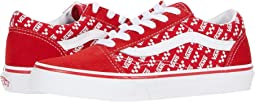 (Logo Repeat) Racing Red/True White