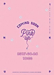 APINK - Pink Up (6th Mini Album) [A ver.] CD+Photobook+Photocard+Folded Poster+Free Gift